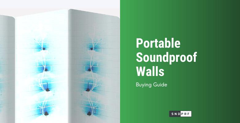 Portable Soundproof Walls