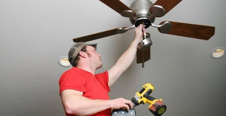 clean fan fix mechanic